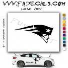 New England Patriots Football (Decal - Sticker)