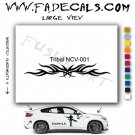 Tribal Tattoo Element Style 1 Logo Decal Sticker