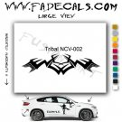 Tribal Tattoo Element Style 2 Logo Decal Sticker