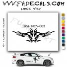 Tribal Tattoo Element Style 3 Logo Decal Sticker