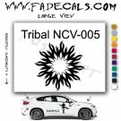 Tribal Tattoo Element Style 5 Logo Decal Sticker