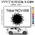 Tribal Tattoo Element Style 6 Logo Decal Sticker