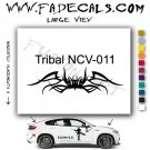 Tribal Tattoo Element Style 11 Logo Decal Sticker