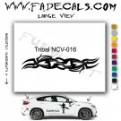 Tribal Tattoo Element Style 16 Logo Decal Sticker