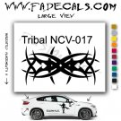 Tribal Tattoo Element Style 17 Logo Decal Sticker