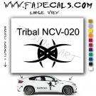 Tribal Tattoo Element Style 20 Logo Decal Sticker