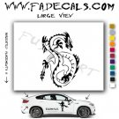 Oriental Dragon Style 1 Vinyl  Logo Decal Sticker