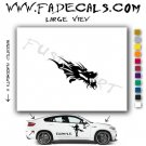 Oriental Dragon Style 13 Vinyl Logo Decal Sticker