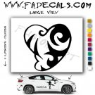Valentines Day Heart 8 Vinyl Logo Decal Sticker