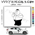 Peter Griffin Family Guy Vinyl Decal & Sticker