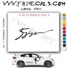 5Zigen Aftermarket Logo Die Cut Vinyl Decal Sticker
