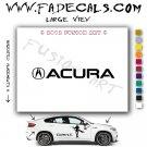 Acura Symbol Aftermarket Logo Die Cut Vinyl Decal Sticker