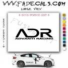 Advanti Racing Aftermarket Logo Die Cut Vinyl Decal Sticker