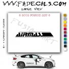 Air Mass Aftermarket Logo Die Cut Vinyl Decal Sticker