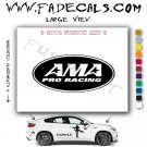 Ama Pro Racing Aftermarket Logo Die Cut Vinyl Decal Sticker