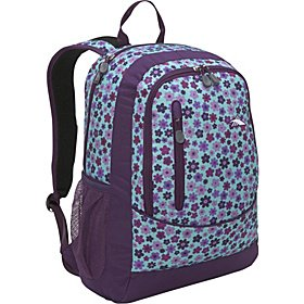 "High Sierra Wilder Daypack, Bouquet Plum, 17"" Laptop Backpack, NWT - Free Ship"