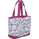 High Sierra Shelby Tote - Birds on a Wire, Cerise, NWT - Free Ship- School Tote Bag