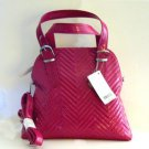 Big Buddha Katy Satchel in Fuchsia, NWT, Purse, Tote - FREE SHIP
