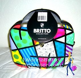 Heys Britto Landscape Beauty Case, NWT, MSRP $400.00, Free Ship