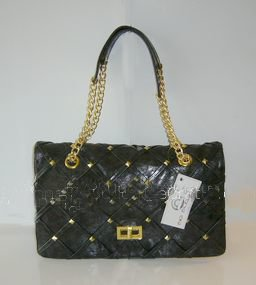 Big Buddha Robertson Shoulder Bag, Chain Straps, NWT