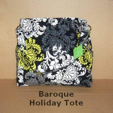 Vera Bradley Holiday 2010 Tote in Baroque, NWT, Reversible, Free Ship