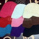 NEWSBOY BABY INFANT TODDLER KUFI CROCHET HATS- YOU PICK