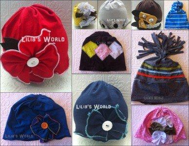 DARK BLUE GIRL COTTON KUFI BEANIE BABY HAIR CAP HAT FITS 0-3 YEARS- LIGHT WEIGHT