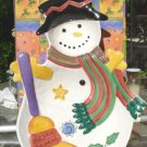 SANGO SWEET SHOPPE CHRISTMAS SNOWMAN CHIP & DIP - NEW