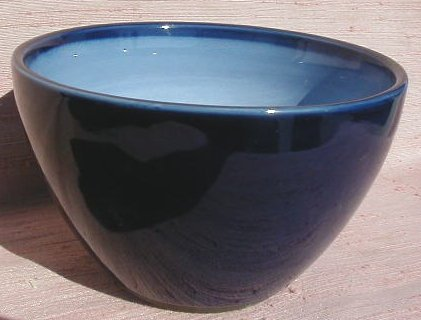SANGO NOVA BLUE SMALL MIXING  BOWL  NEW