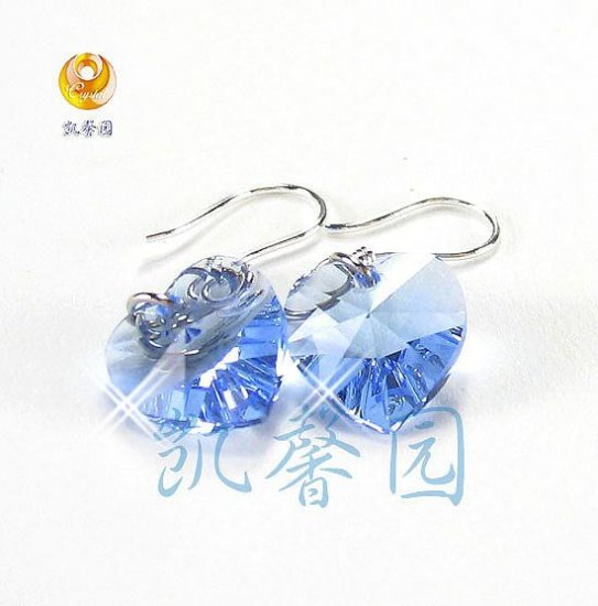 Swarovski Crystal heart shape earring(E-01)