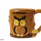 One of a kind Montana Owl Mug