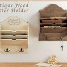 Vintage Wood Letter Box