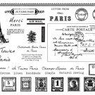 Paris Fabric Sticker Irons on