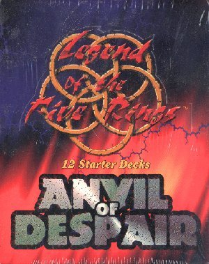Legend of the Five Rings CCG:  Anvil of Despair Starter Deck Box