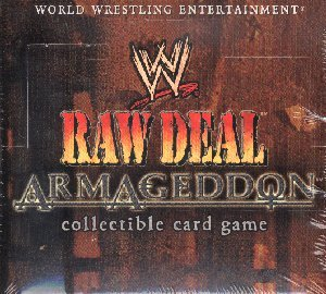 WWE Raw Deal CCG: Armageddon Booster Box