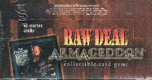 WWE Raw Deal CCG: Armageddon Starter Box