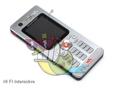 Sony Ericsson - W880i (1 GB) (steel silver)