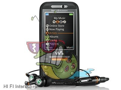 Sony Ericsson W850i (1GB) (Black)