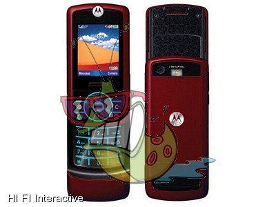 Motorola - RIZR Z3 (fire red)