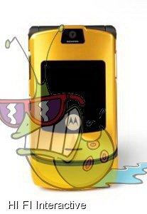 Motorola - RAZR V3i (D&G) (64 MB) (gold)