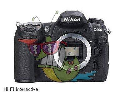 Nikon - D200 (body) (EN) (black)