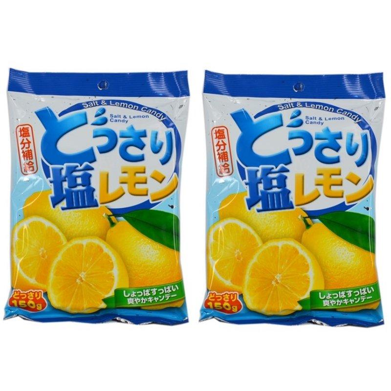 2X Salt & Lemon Candy 150g Japanese Snacks Food & Grocery