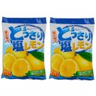 2X Salt & Lemon Candy 150g Japanese Snacks Food & Grocery