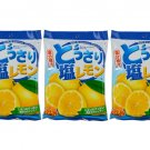 3X Salt & Lemon Candy 150g Japanese Snacks Food & Grocery