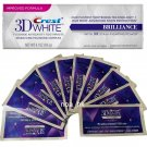 Crest 3D White Luxe Whitestrips Professional Effects 10 Pouches & Whitening Toothpaste 116g