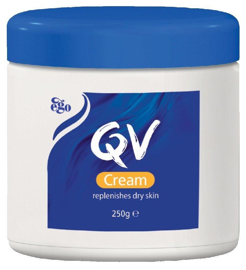 Ego QV Cream 250g Replenishes Dry Skin Made in Australia