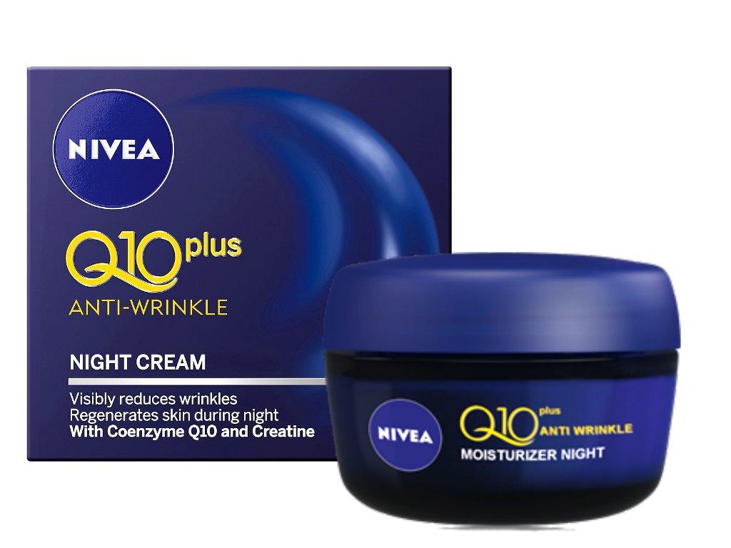 NIVEA Q10 Plus Anti-Wrinkle Night Cream 50ml Anti Aging & Regenerate Skin