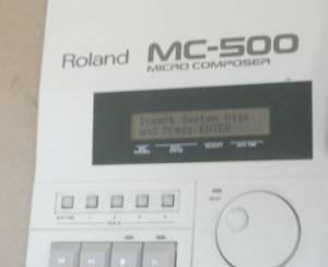 Roland MC-500 Sequencer MIDI Recorder Micro Composer MC500