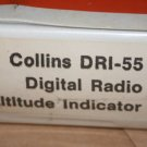 Rockwell Collins DRI-55 Digital Radio Altitude Indicator Instruction manual