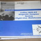Rockwell Collins MCS-65 Magnetic Compass flight line maintenance Study manual